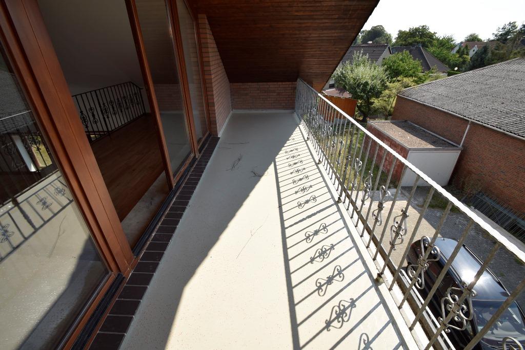 12. Balkon im Dachgeschoss