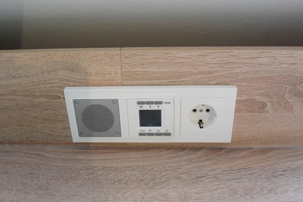 Musikanlage in der Küche und im Bad