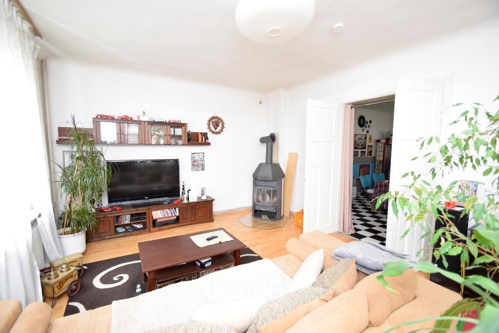 Wohnzimmer im EG mit Kaminofen