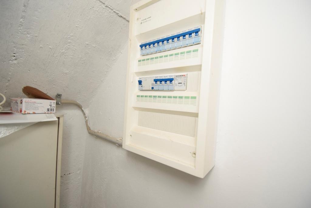 Neuer Sicherungskasten mit FI-Schalter