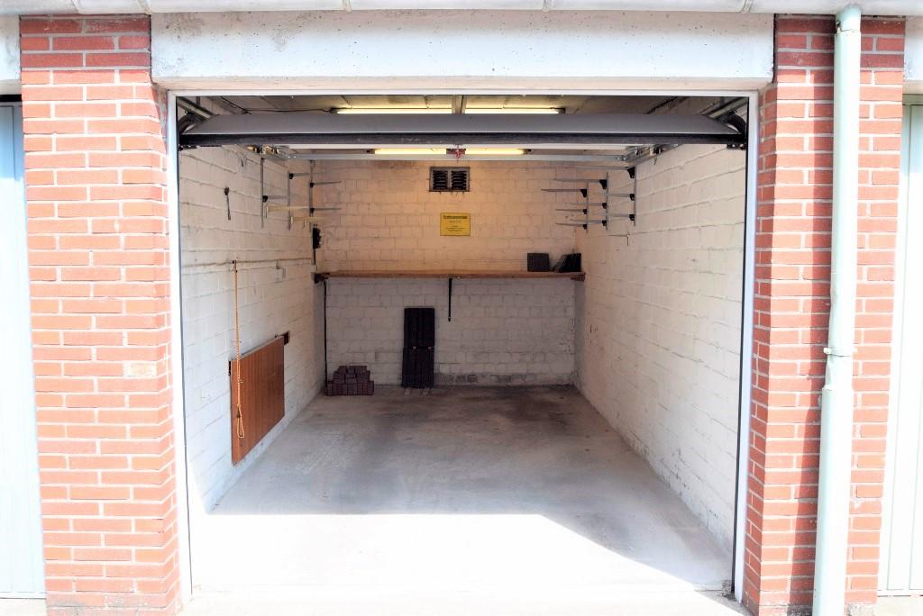 Blick in die Garage