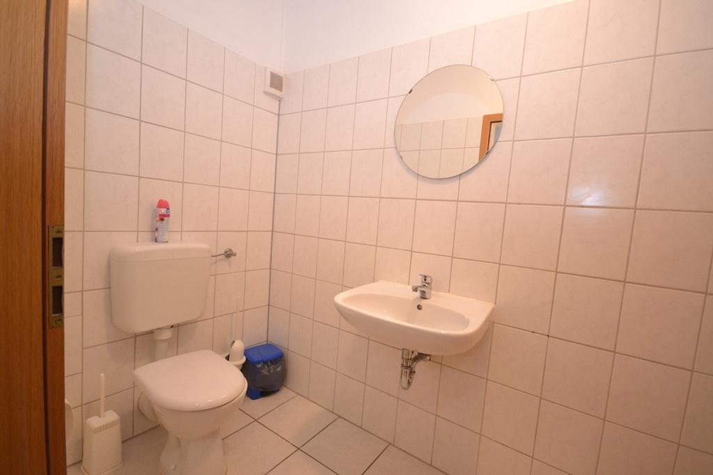 WC-Anlage in der Tanzschule