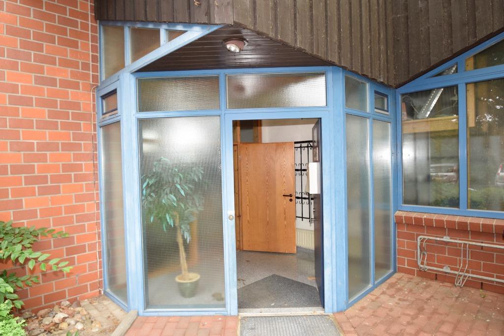 Separater Eingang in den Wohnteil