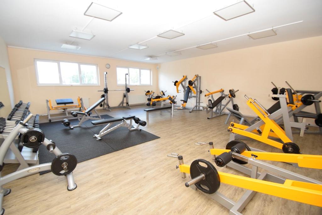 Neue Fitnessgeräte