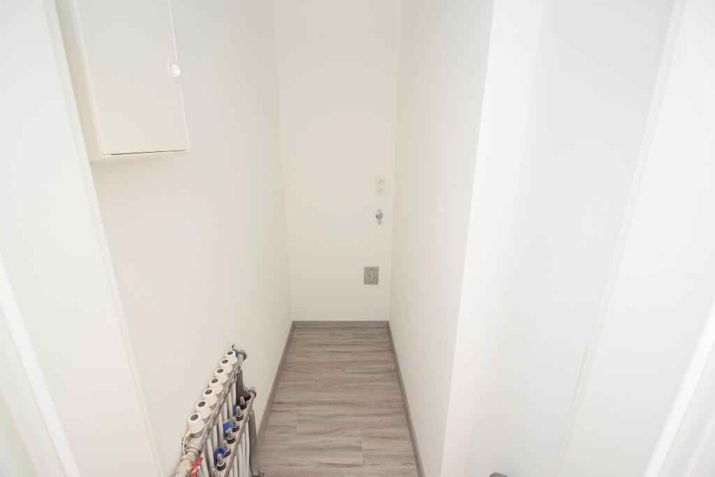Steuerung für die Fußbodenheizung und Platz für Waschmaschine und Trockner