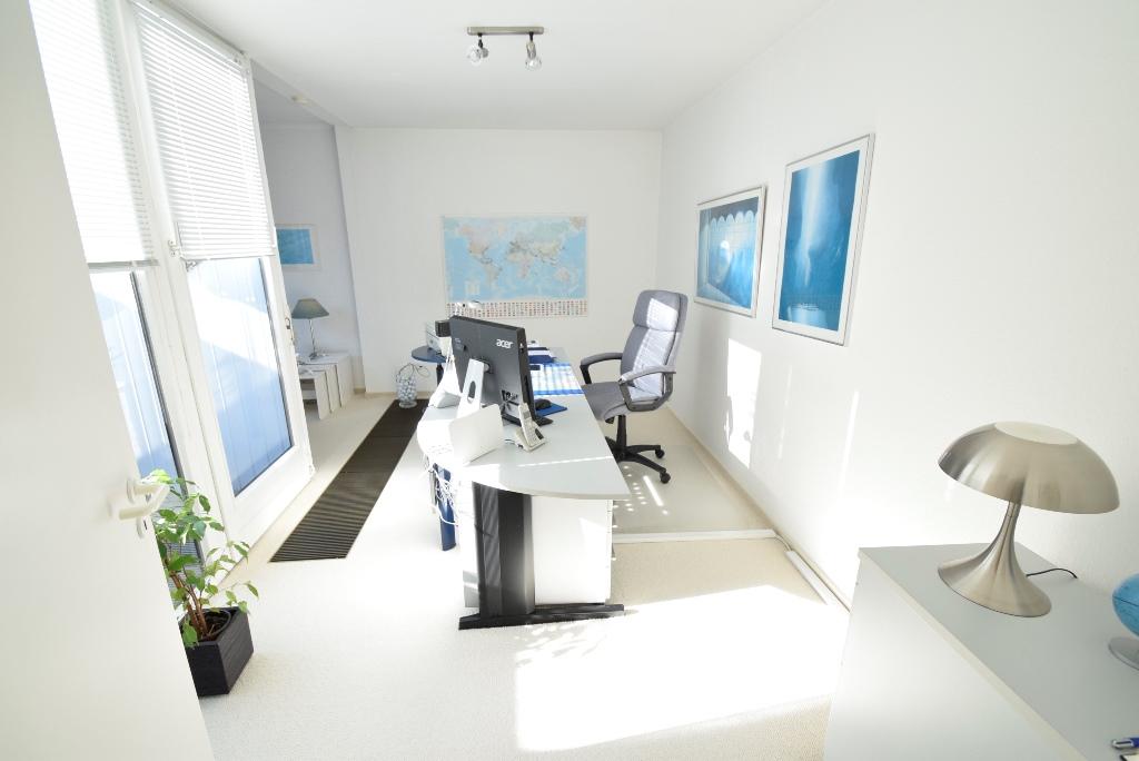 Büro mit Konvektorheizung
