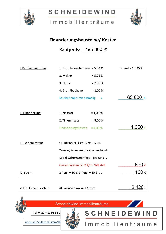 Finanzierungsbausteine Kreuzstr.11