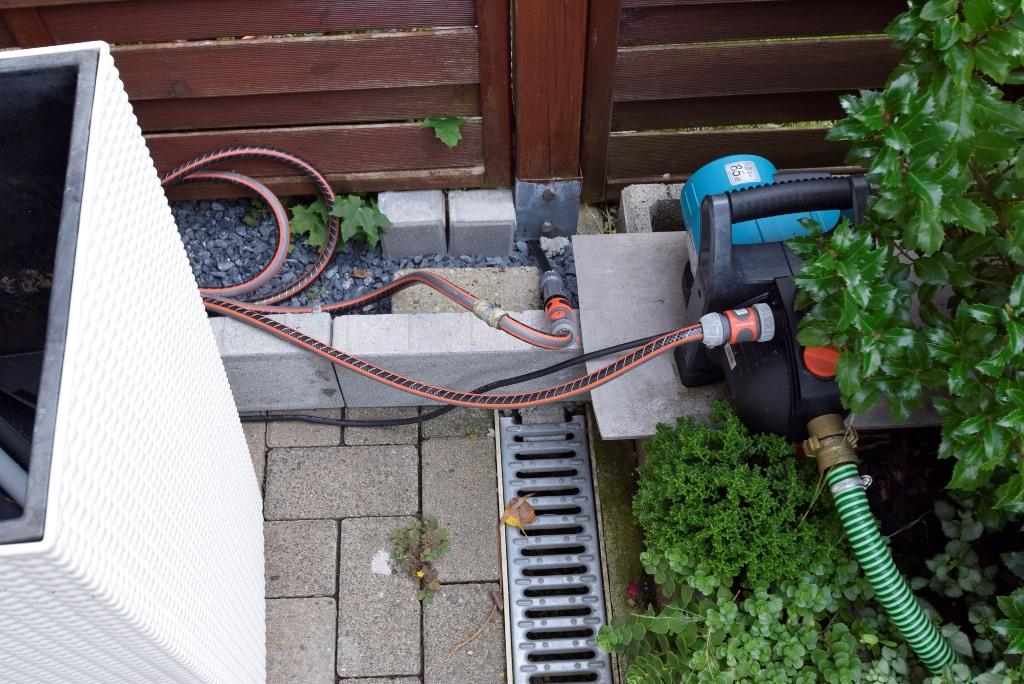 Wasserpumpe für Ihre Gartenbewässerung