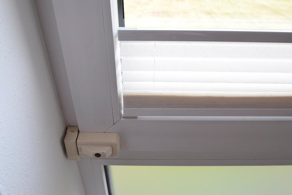 Sicherheitsschlösser an den Fenstern