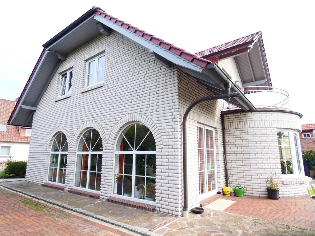 Süd-Westansicht des Hauses