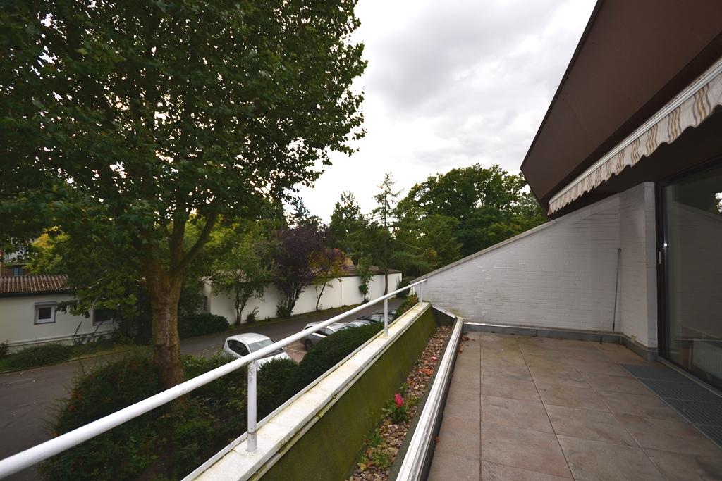 23. Balkon auf der Südseite