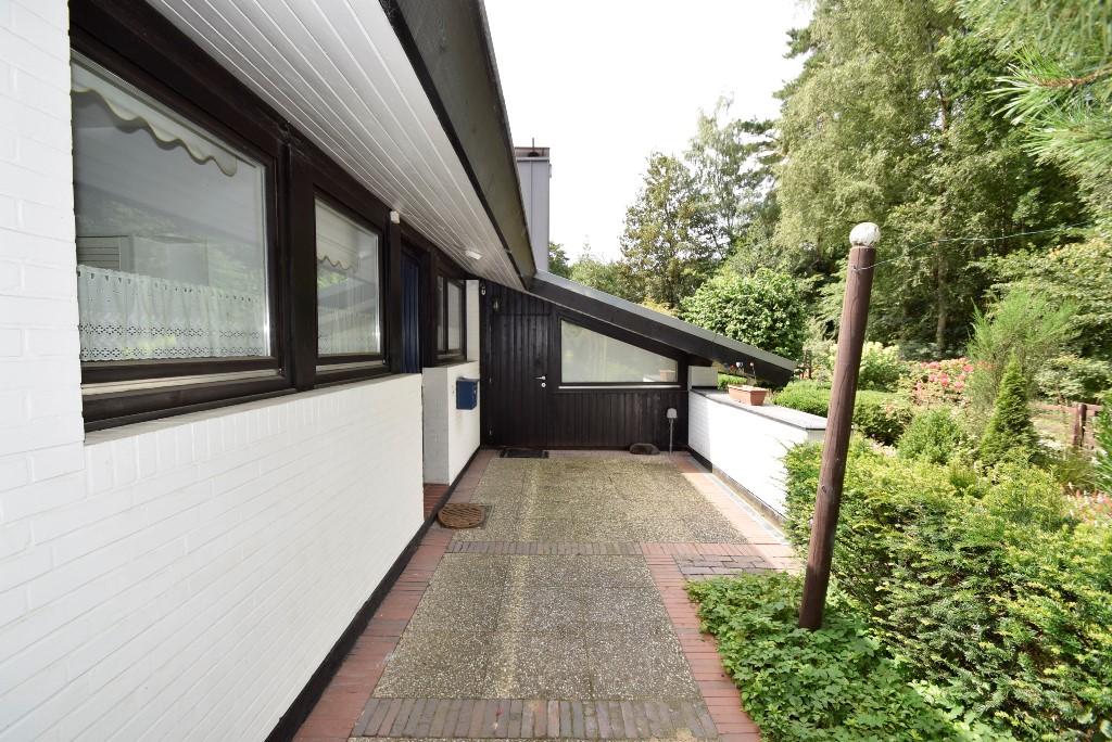 Stellfläche vor der Haustür