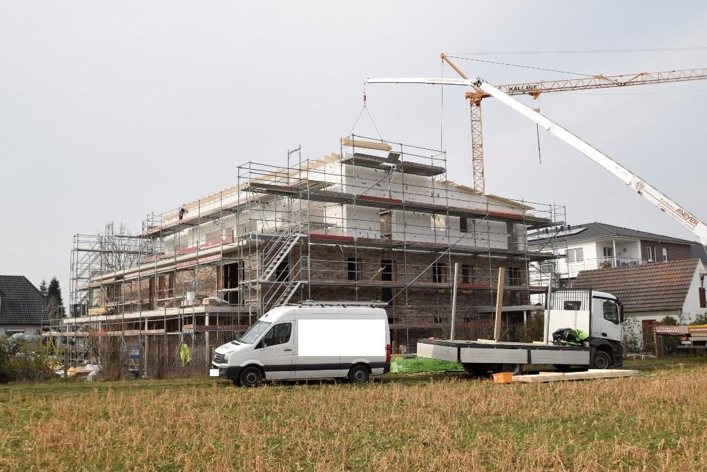 Blick auf den Gebäudekomplex 03.03.2021
