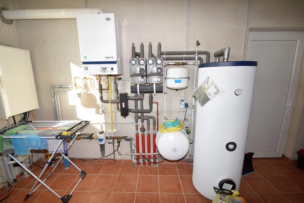 Heizanlage als Gas Zentralheizung