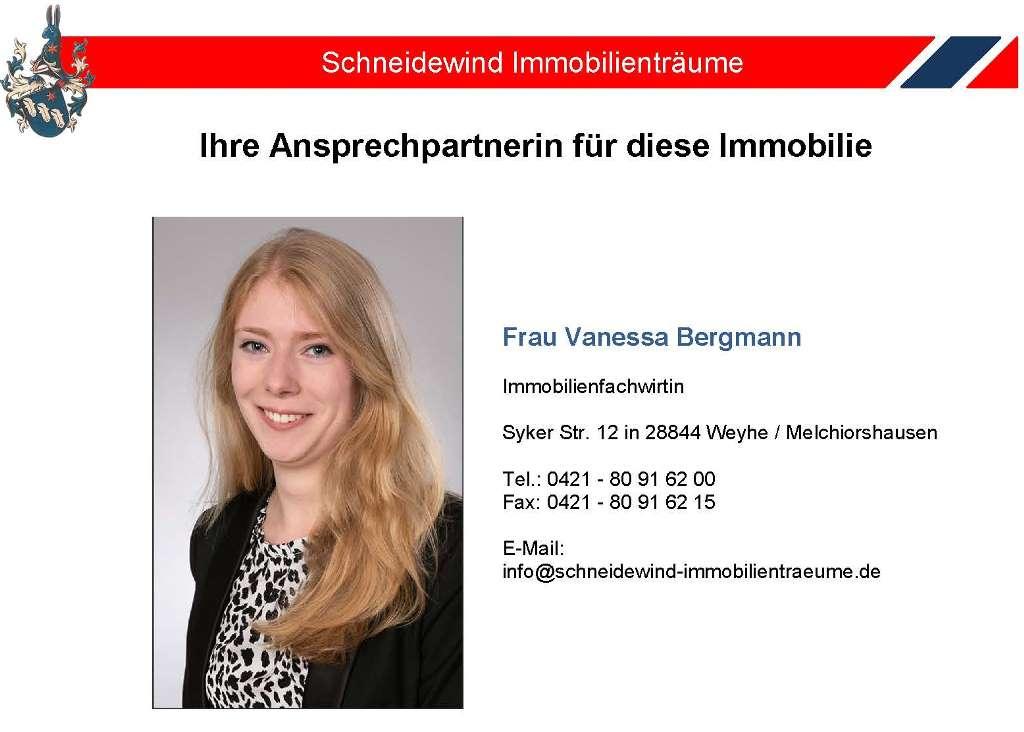 Ansprechpartnerin Vanessa Bergmann