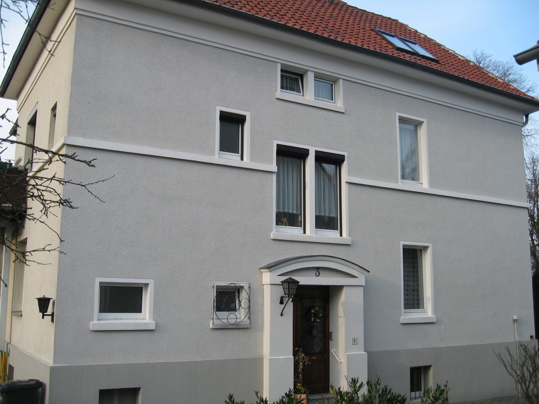 Südseite mit Hauseingang