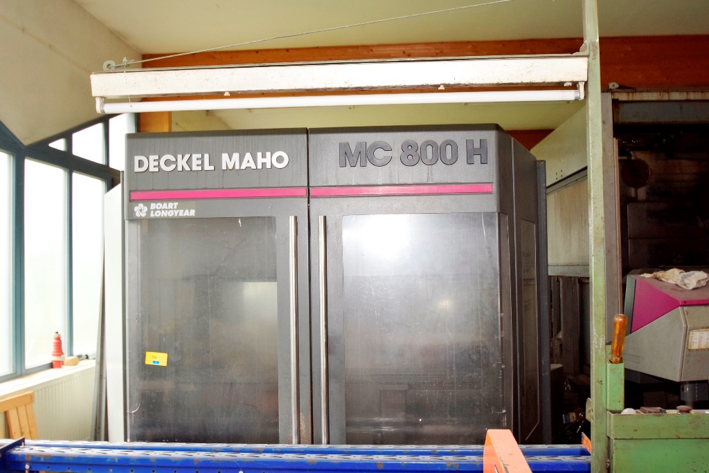 Neuwertige Fräsmaschine noch in der Halle - soll verkauft werden