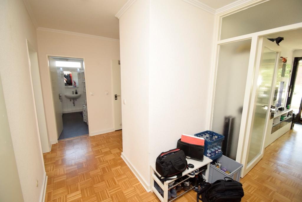4. Alle Räume sind vom Flur aus erreichbar