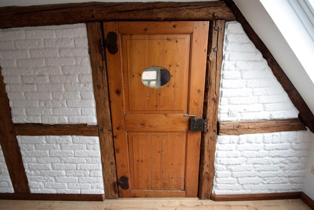 Original Zwischentür im rustikalen Stil
