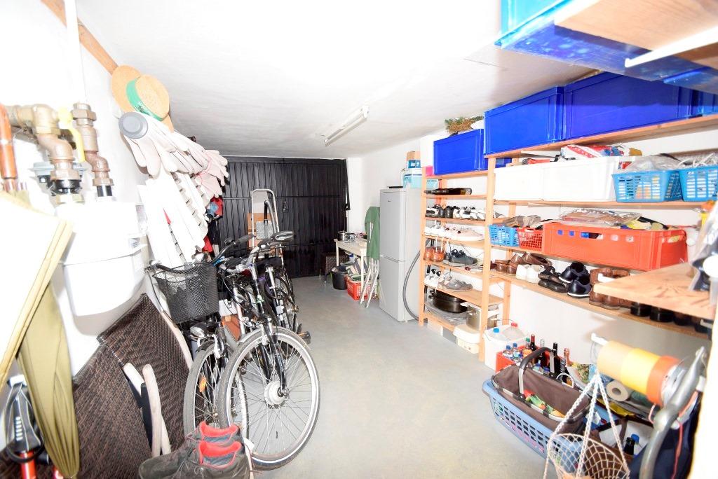 Garage als zusätzlicher Vorrats- und Abstellraum