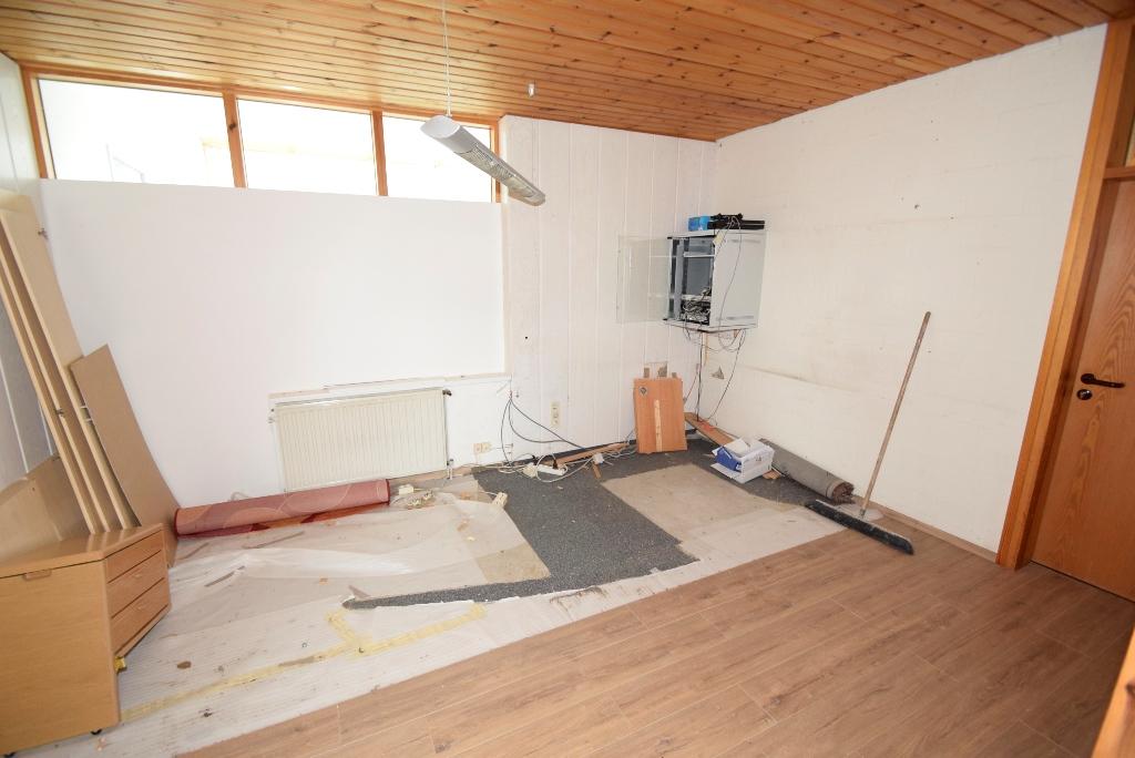 im Umbau befindlicher Büroraum